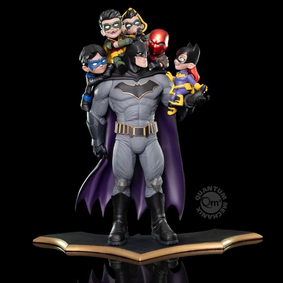 qmx batman family qmaster diorama