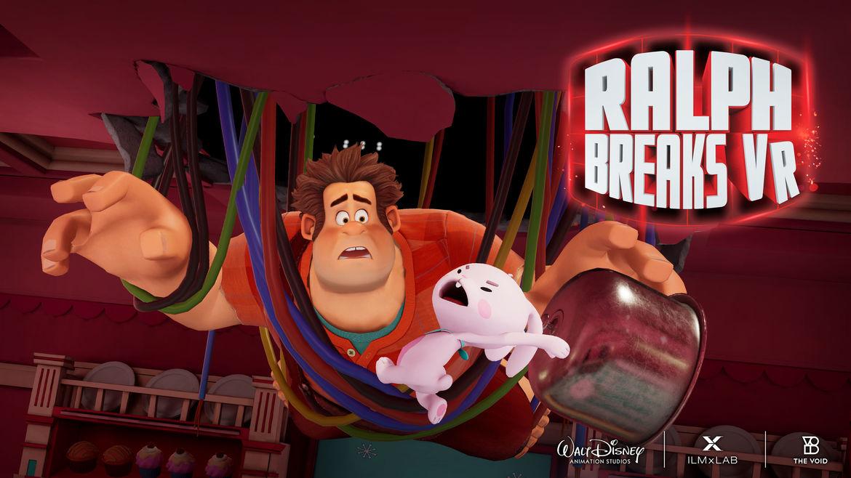Ralph Breaks VR Screenshot - Ralph Pancake Milkshake Diner