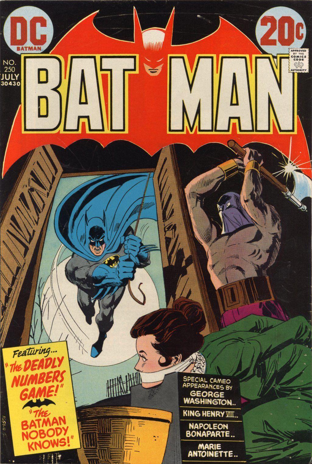Batman #250 (Writer: Frank Robbins Artist: Dick Giordano)