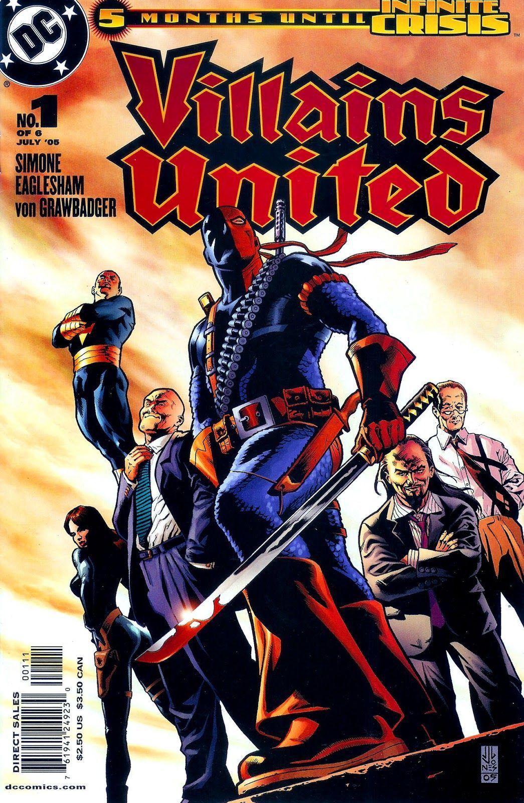 Villains United #1 (Writer Gail Simone, Artist Dale Eaglesham)