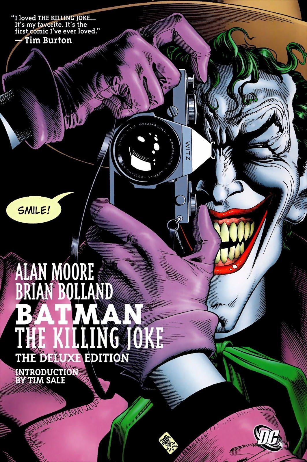 Batman: The Killing Joke (Writer: Alan Moore, Art: Brian Bolland)