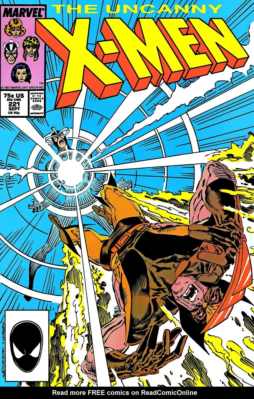 Uncanny X-Men #221 (Art by John Byrne, Written By Chris Claremont)