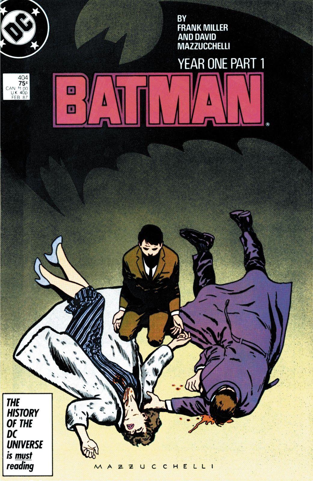 Batman #404 (Writer: Frank Miller, Artist: David Mazzucchelli)