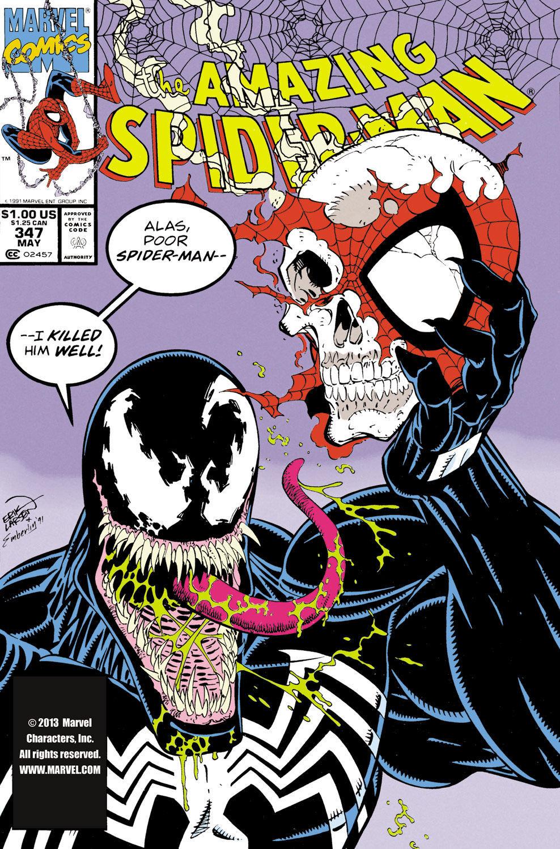 The Amazing Spider-Man #347 (Writer David Michelinie, Artist Erik Larsen)