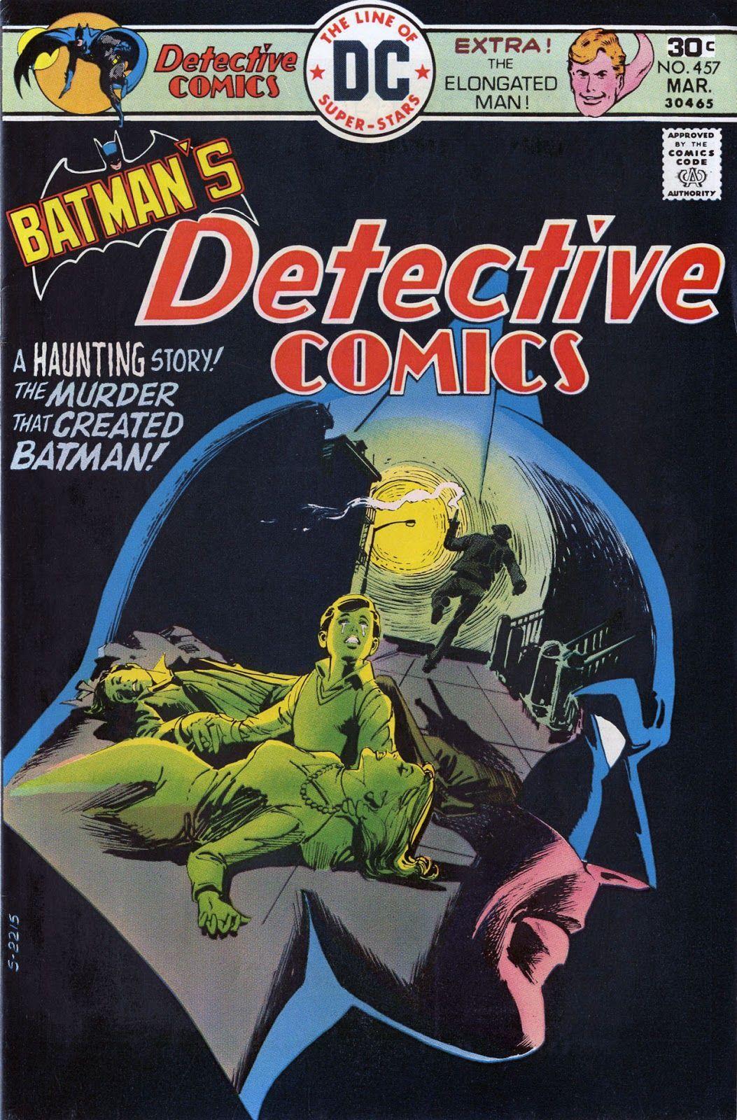 Detective Comics #475  (Writer Denny O'Neil, Art by Dick Giordano)