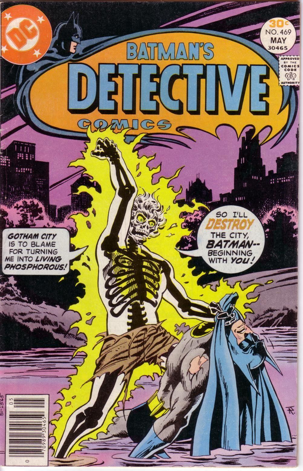 Detective Comics #469 (Writer: Steve Englehart, Art: Walt Simonson)
