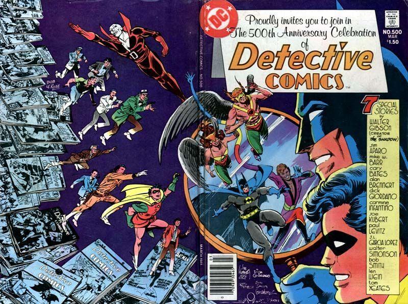 Detective Comics #500 (Writer: Alan Brennert, Penciler: Dick Giordano)
