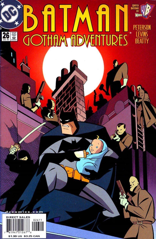 Batman: Gotham Adventures #26 (Writer: Scott Peterson, Art: Tim Levins, Terry Beatty, Lee Loughridge)