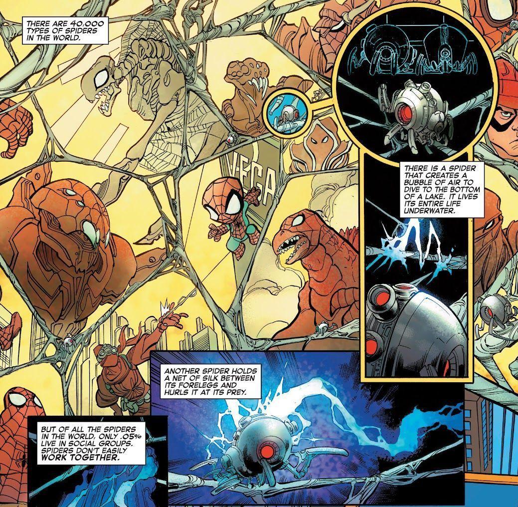 Web Warriors #1 (Writer Mike Costa and artist David Baldeon)