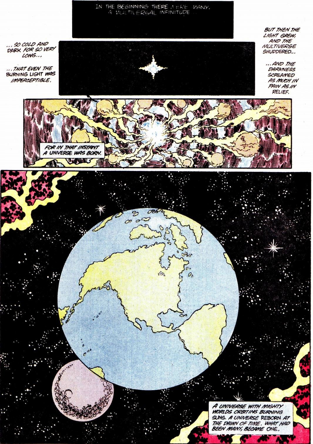 Crisis on Infinite Earths #11 (Written by Marv Wolfman, Art by George Perez and Jerry Ordway)