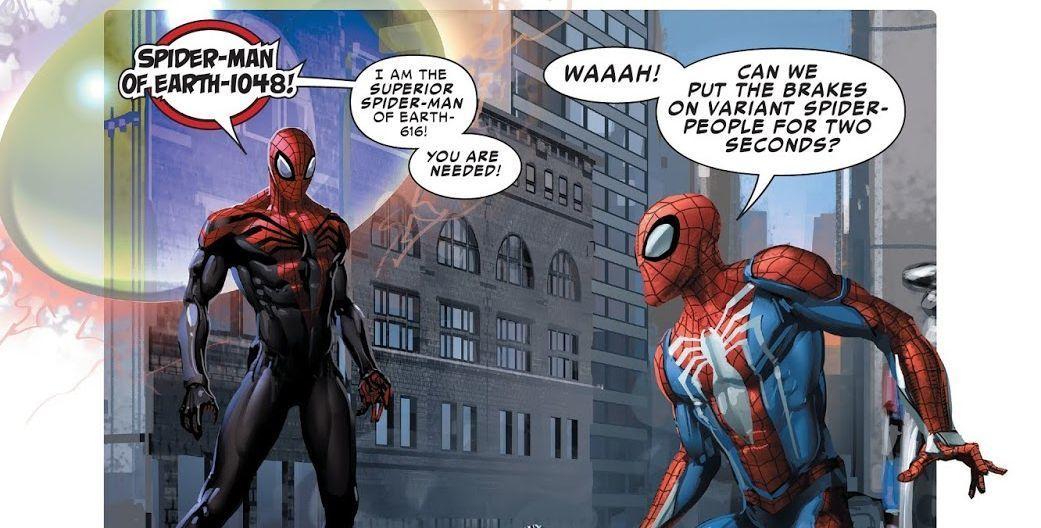 Spider-Geddon #0 (Writer Christos Gage, Artist Clayton Crain)