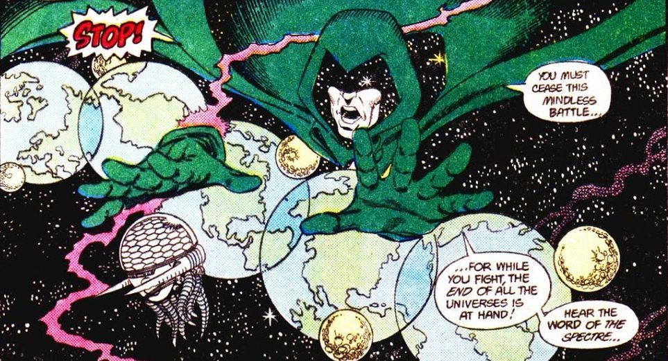 Crisis on Infinite Earths #10 (Written by Marv Wolfman, Art by George Perez and Jerry Ordway)