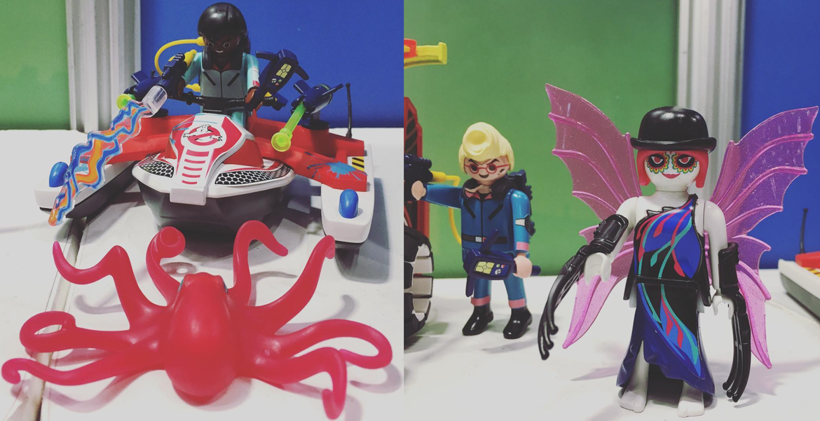 Playmobil The Real Ghostbusters Mission Packs