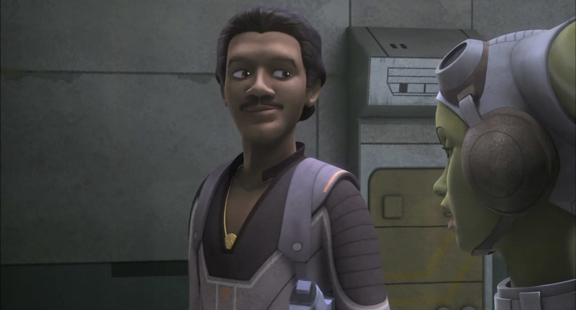 Star Wars Rebels- Lando and Hera