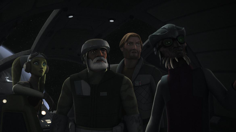 Star Wars Rebels- Rex in fatigues