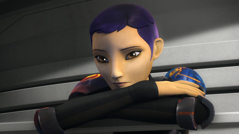 Star Wars Rebels- Sabine in the finale