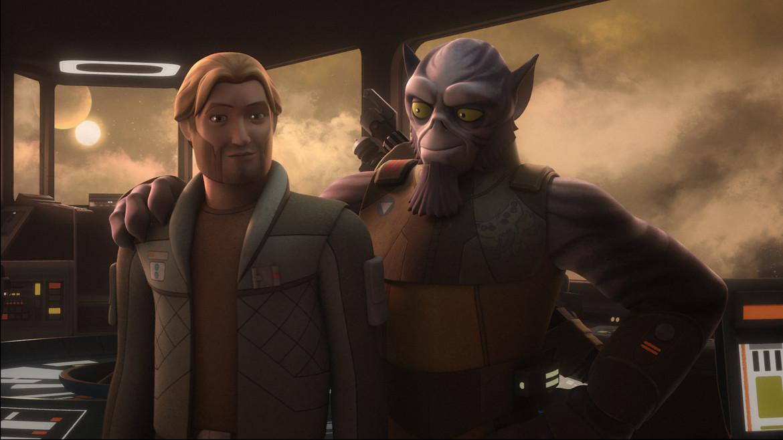 Star Wars Rebels- Happy Zeb and Kallus
