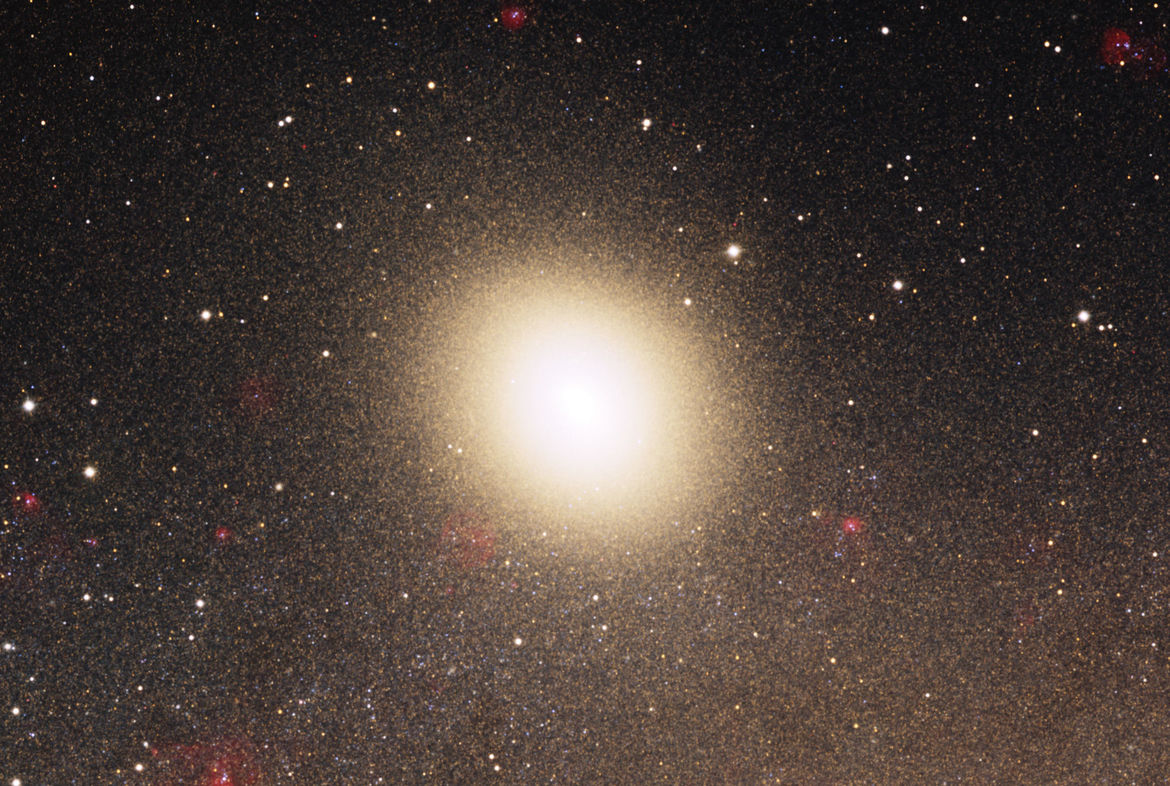 M32, a satellite of Andromeda, is itself a full-blown (if dwarf) galaxy.