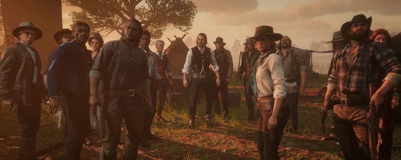 Red Dead Redemption 2 trailer screenshot