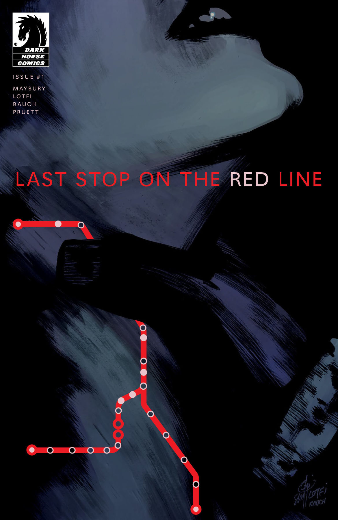 Red Line Cover A