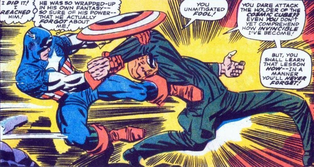 Red Skull Captain America comic