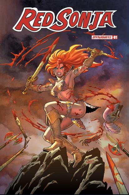 Red Sonja Dynamite Entertainment