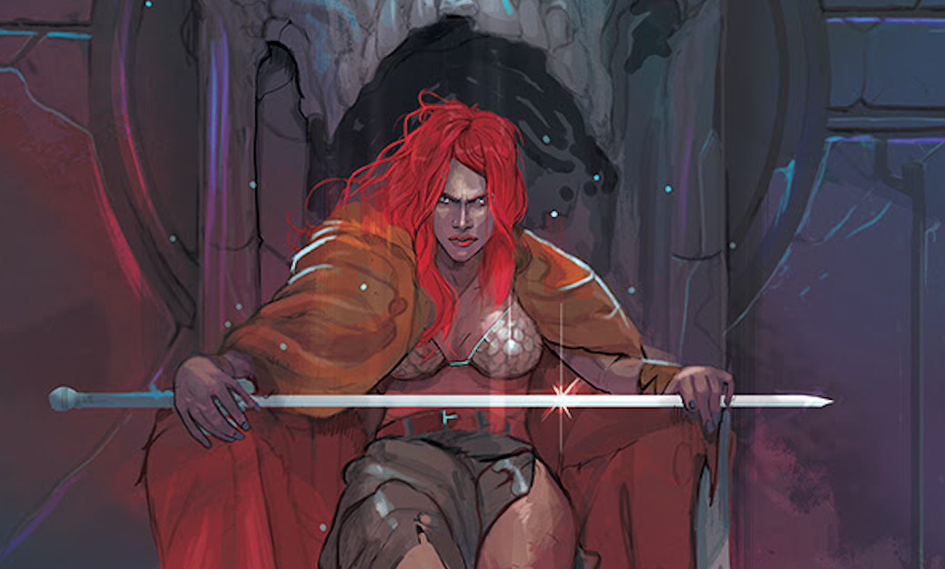 red sonja cover slice