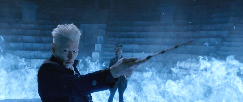 Johnny Depp Gellert Grindelwald Fantastic Beasts: The Crimes of Grindelwald