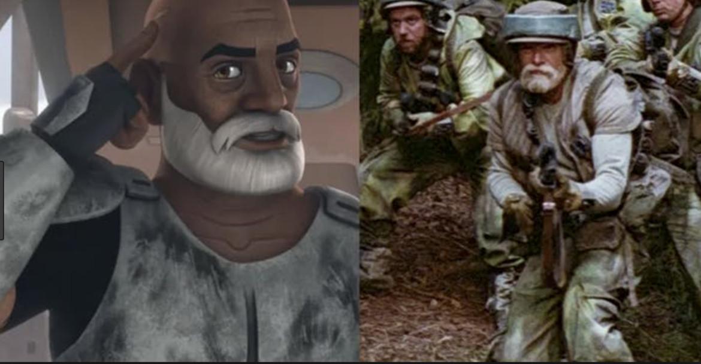 Star Wars- Captain Rex in Return of the Jedi