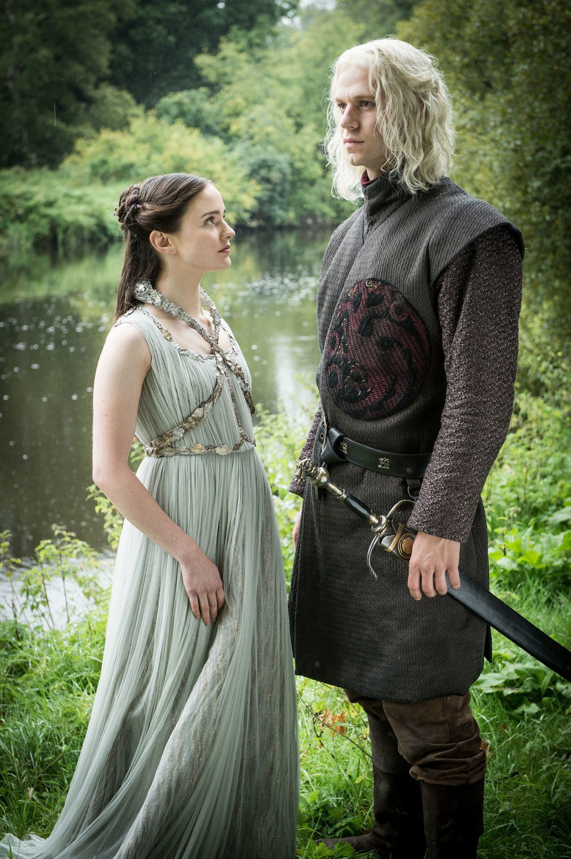 Game of Thrones season 7 - Lyanna Stark and Rhaegar Targaryen