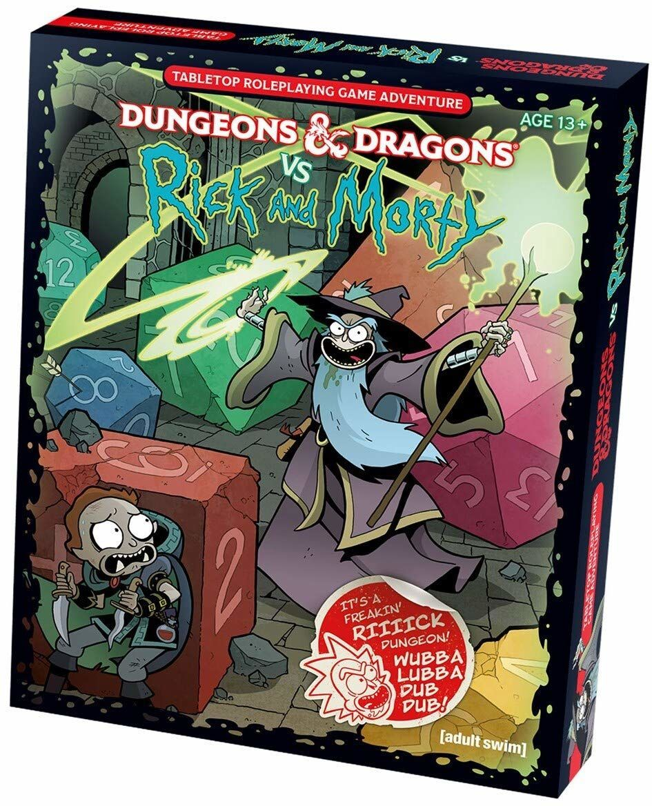 Dungeons & Dragons vs  Rick and Morty is chaotic, good