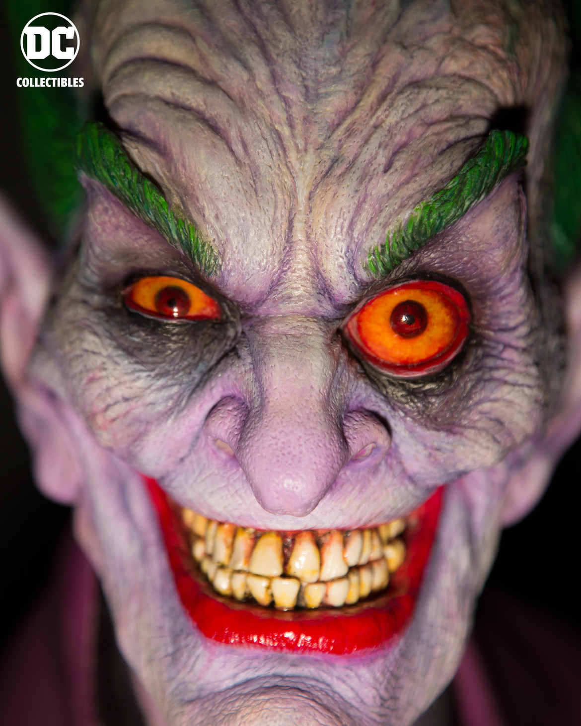 Rick Baker Joker Sculpture 1