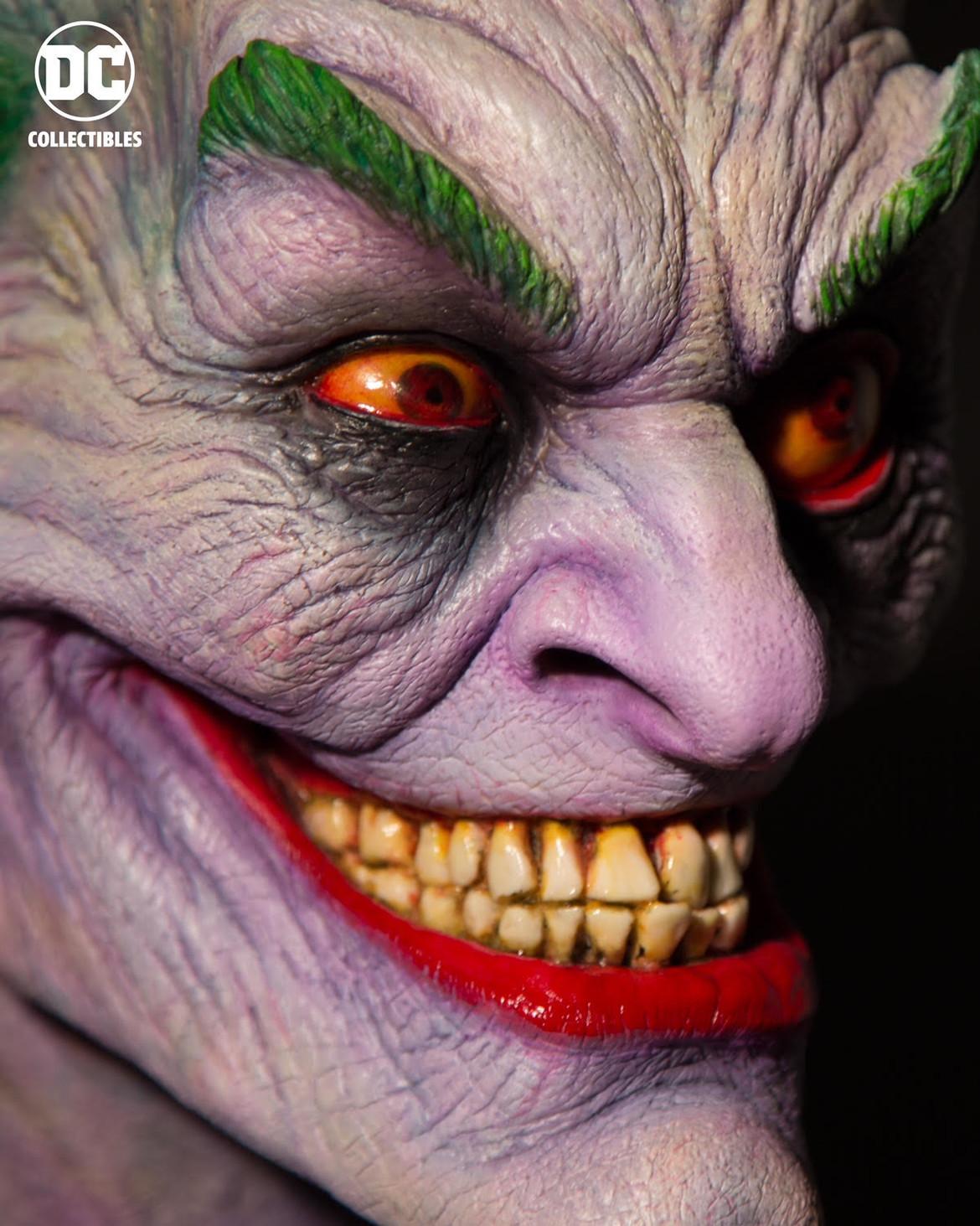 Rick Baker Joker Sculpture 3