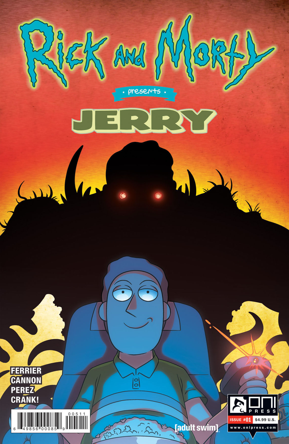 Rick and Morty Presents Jerry 1 cover A