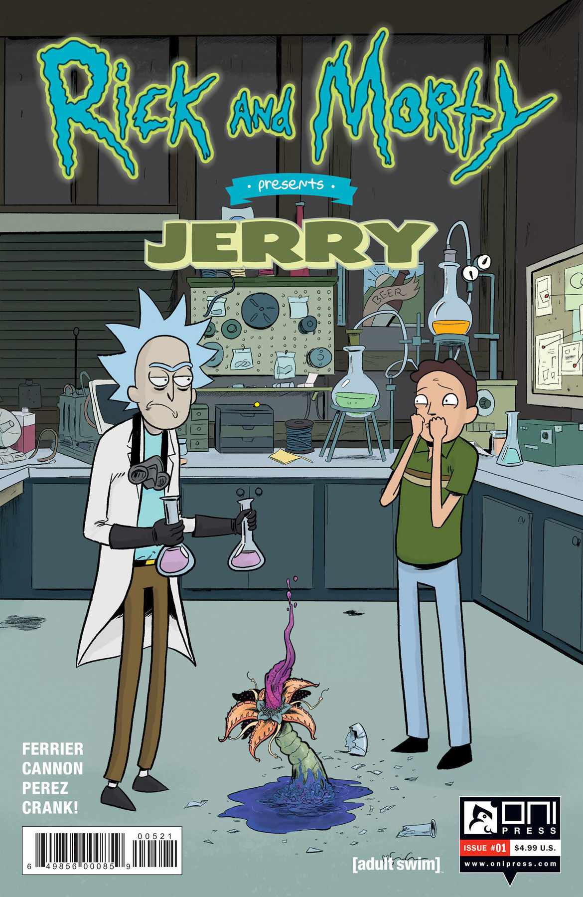 Rick and Morty Presents Jerry 1 cover B
