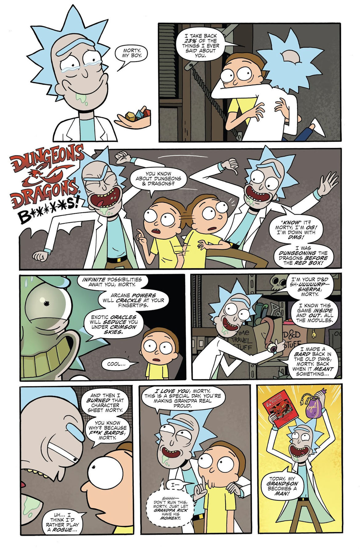 Rick and Morty vs Dungeons and Dragons 1 Page 10