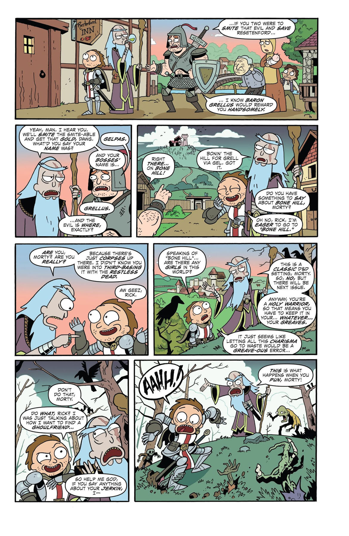Rick and Morty vs Dungeons and Dragons 1 Page 17