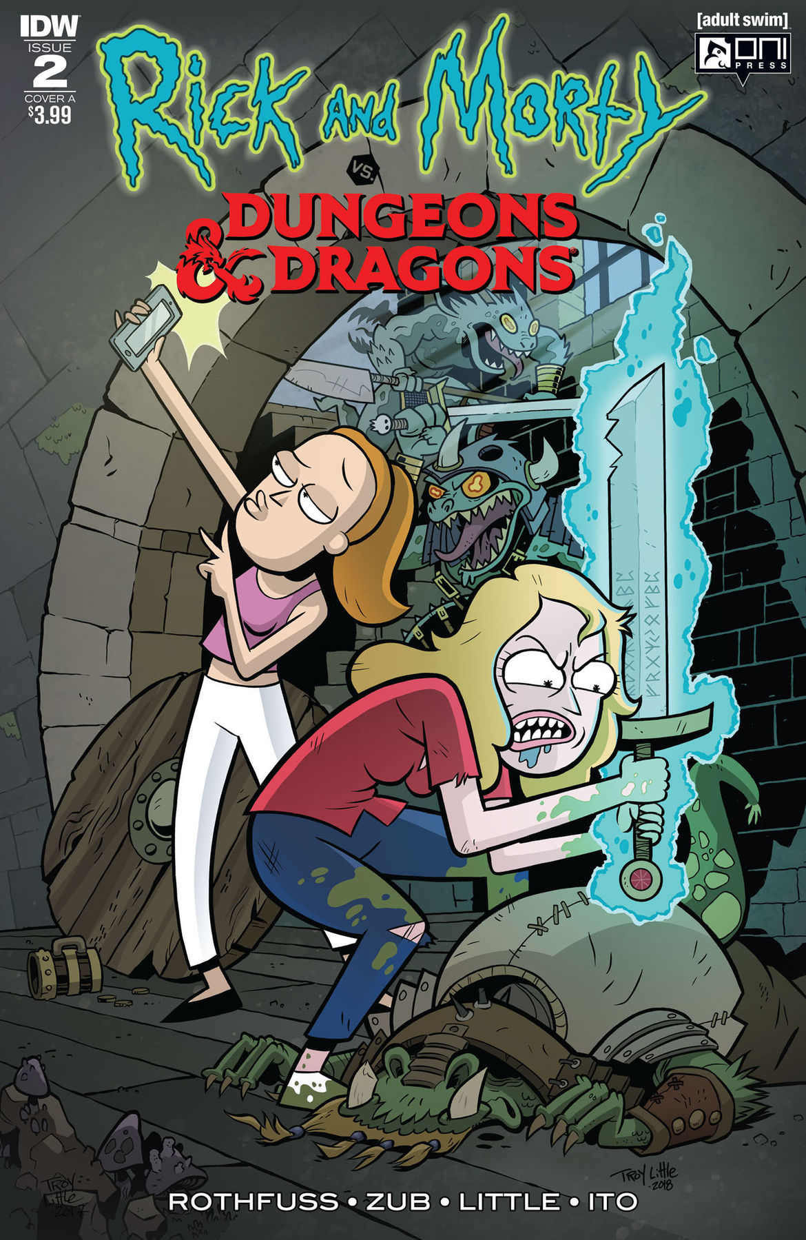 Rick and Morty vs Dungeons and Dragons 2 cover