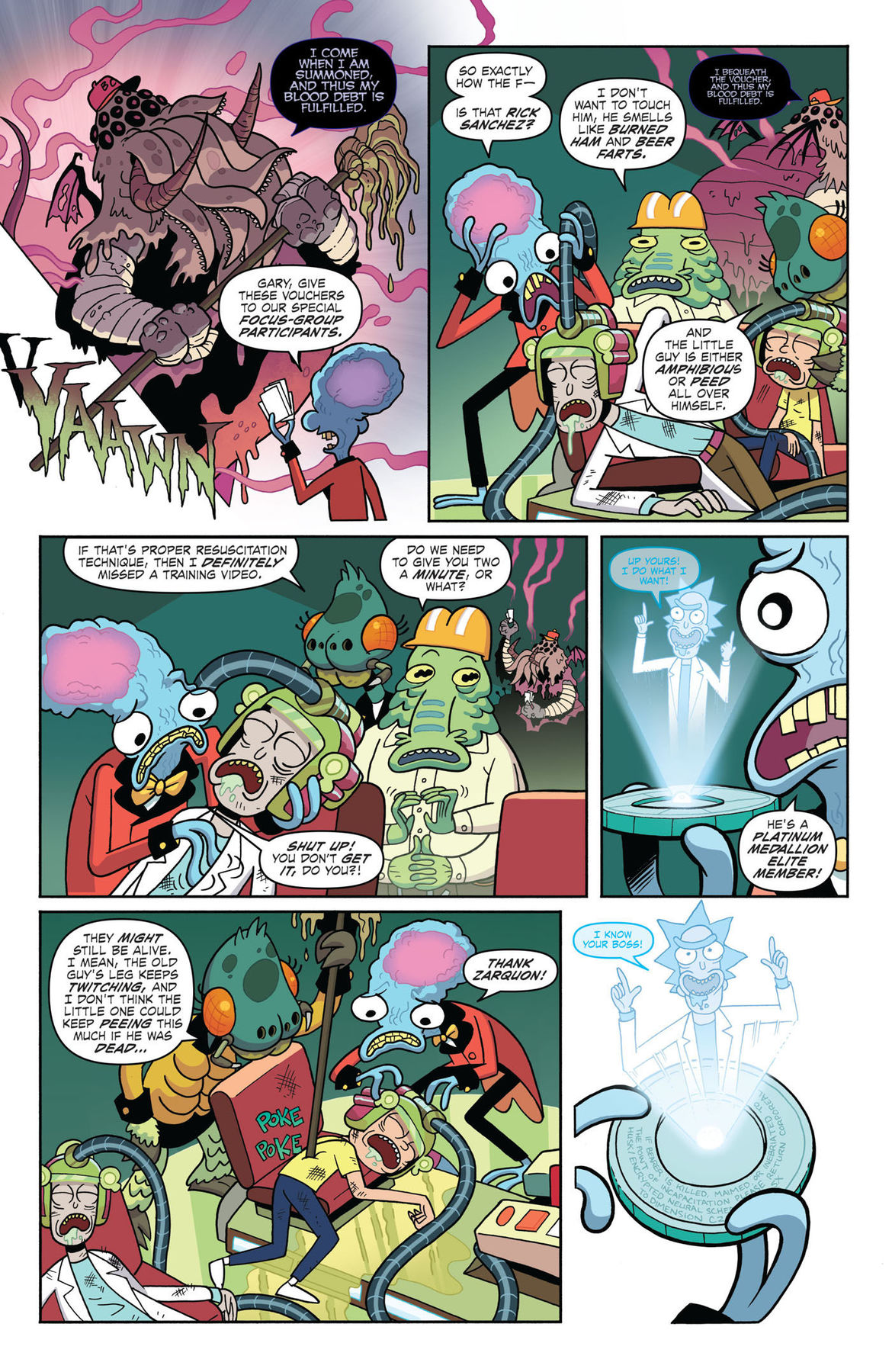 Rick and Morty vs Dungeons and Dragons 2 Page 4