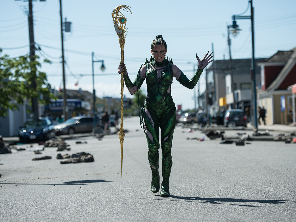 Elizabeth Banks, Rita Repulsa, Power Rangers