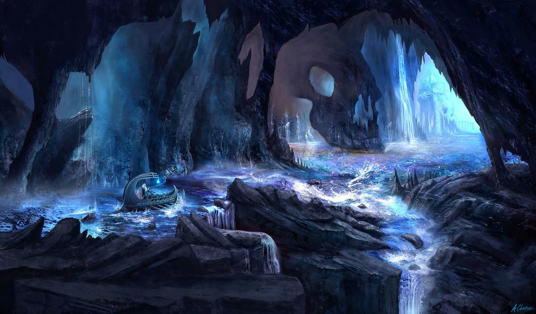 The River Styx by Anthony Christou