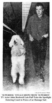 John Rockwell Superboy dog