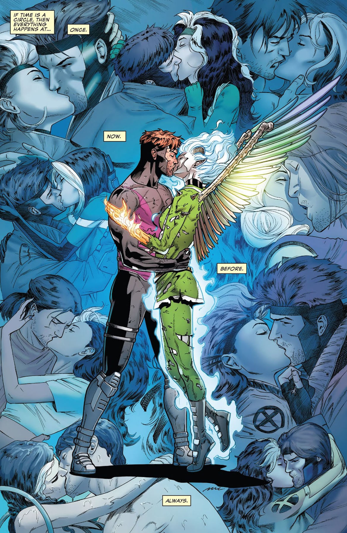 Rogue and Gambit 5 The Kiss