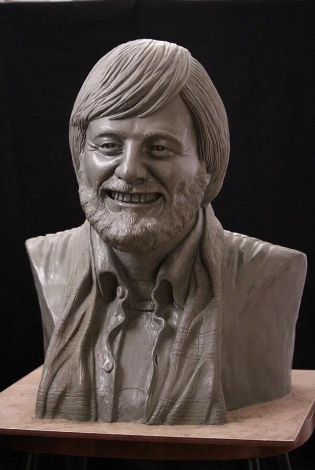 George A Romero Dawn of the Dead bust