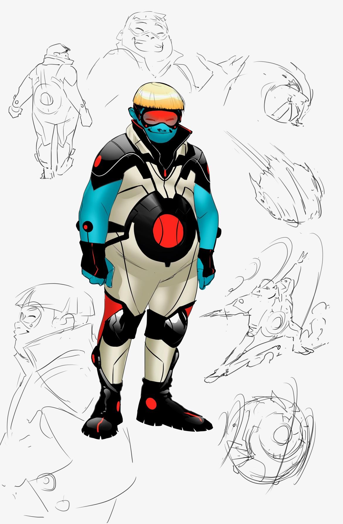 Teen Titans - Roundhouse Concept Design