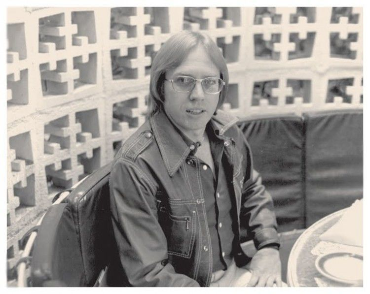 Then Marvel Editor-In-Chief RoyThomas in the 1970s