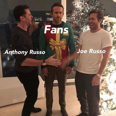 Russo Brothers Twitter Profile December 2018