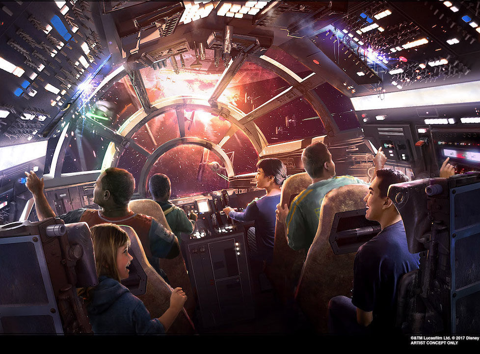 Smuggler's Run Galaxy's Edge