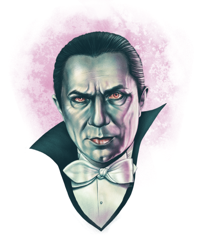 Bela Lugosi as Dracula by Sara Deck
