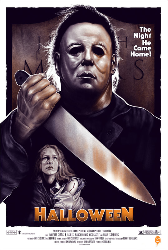 Michael Myers from Halloween by Sara Deck